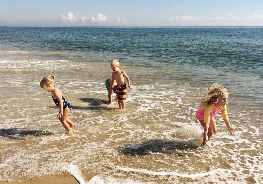 Beach Trip With Friends