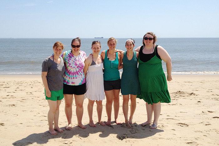 Girls Beach Trip